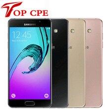 Samsung Galaxy A5, A5100, разблокированные сотовые телефоны, 5,2 дюймов, четыре ядра, Octa Cor, 13 МП, 2 Гб RAM, 16 ГБ ROM, две sim-карты, отремонтированный