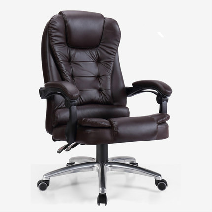 Genuine Leather Office Chair Home Massage Computer Boss Chair Swivel Lifting Gaming Chair Reclining Silla Oficina Silla Gamer Aliexpress