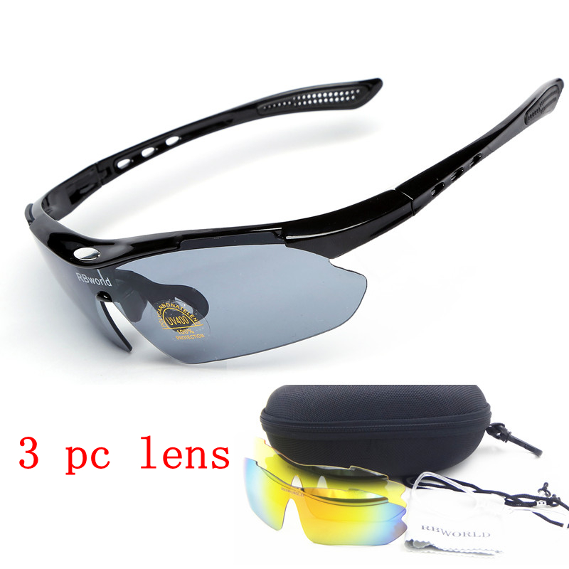 Unisex Sports Cycling Bicycle Bike Riding Sun Glasses Eyewear Outdoor UV400 Lens