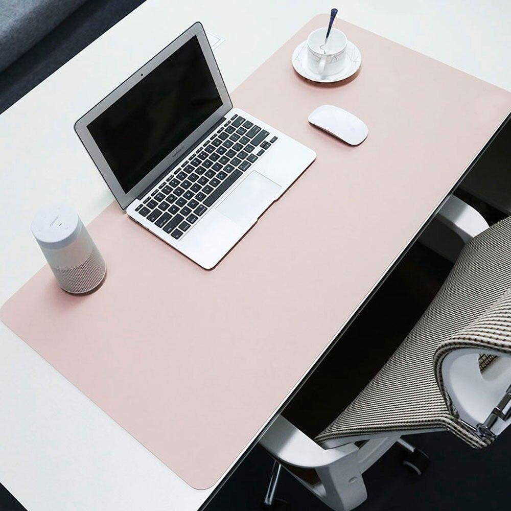 Pbpad store grand tapis de souris imperméable et étanche à l'huile pour ordinateur portable personnalisé bureau clavier pad bureau bureau en cuir plus longue table
