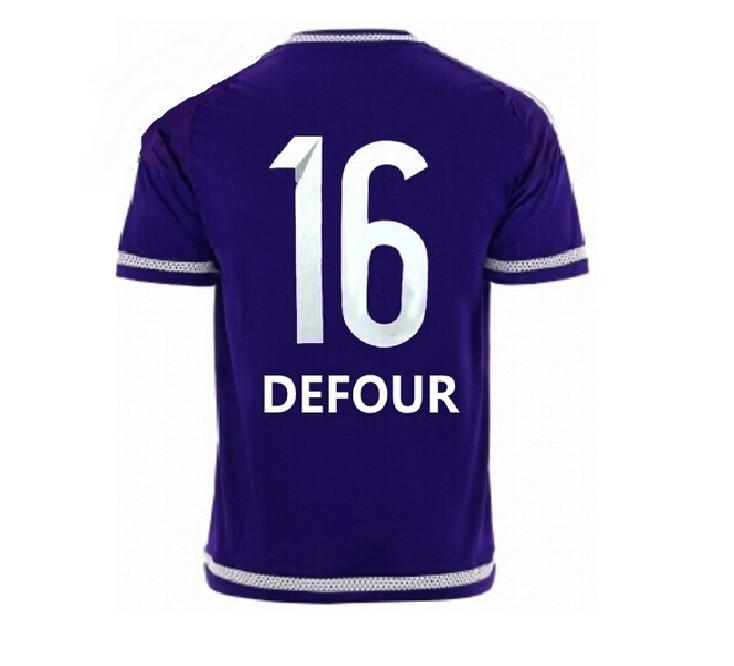 ce95efdb453 Anderlecht Jersey rsc anderlecht home 15/16 Belgium Pro League Soccer  Jersey best quality 2015/2016 football shirt 15 16-in Soccer Jerseys from  Sports ...