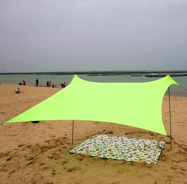 2 3 Person Lycra Beach Canopy Sun Shade Fishing Awning Travel Trek Car Self Driving UV Outdoor Camping Sun Shelter Tent Pergola|Tents|   - AliExpress