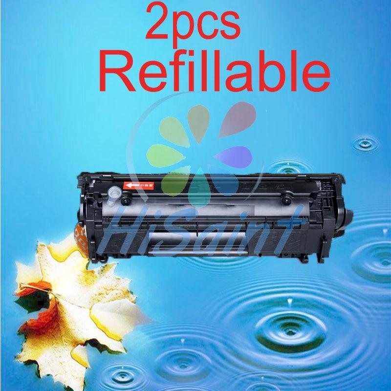 ФОТО Hot 2pcs  tn710 minolta Q2612A 2612A 12a 2612 Compatible toner cartridge for HP LJ 1010 1012 1015 1018 1020 1022 3010 3015 3020