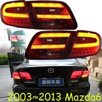 100 комплект! Бампер лампы для Mazda 6 задние фонари подходит для седан 2003 ~ 2012 Mazda6 фонарь оригинальный дизайн светодиодные задние фары