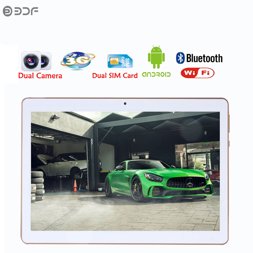 Russian shipping Android 6.0 Quad Core 10 inch tablets 3G Phone Call 1280x800 IPS pc Tablet WiFi 2G+16G 7 8 9 10 android tablet