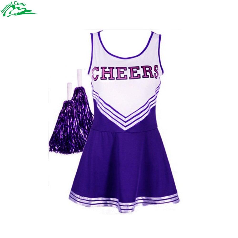 Jeebel Feme תחפושת תלבושות תלבושות מעודדות בנות מעודדות אחידה בית ספר ילדה Momo Shiina ספורט צוות