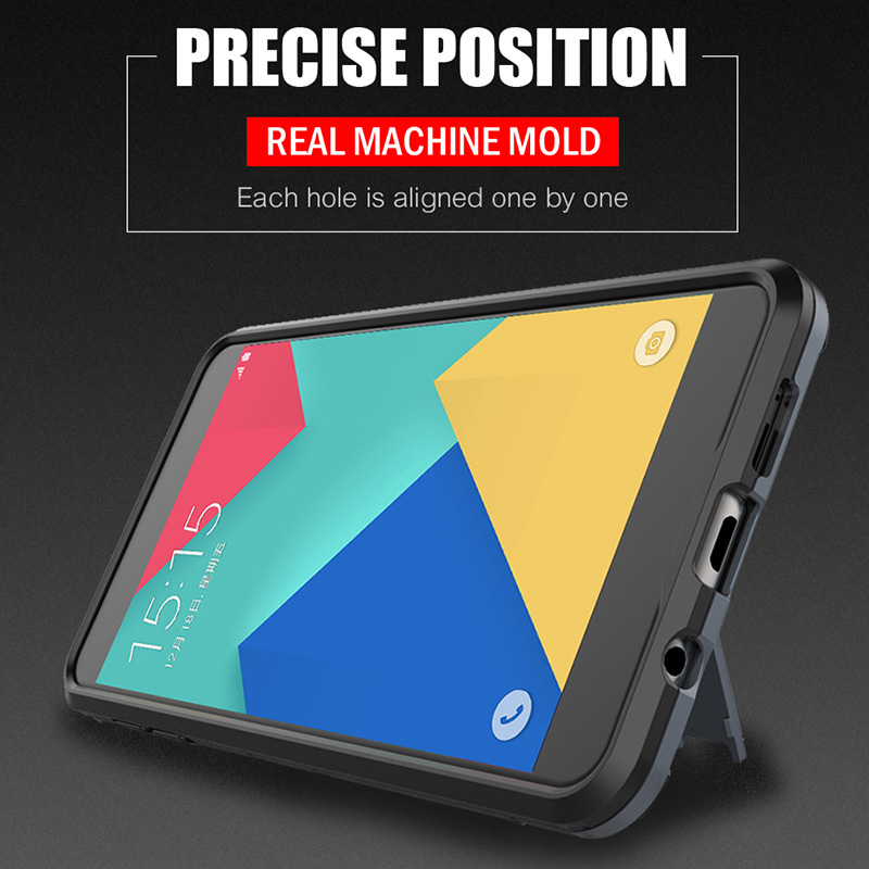 Image 5 - H&A Luxury Armor Phone Case For Samsung Galaxy A3 A5 A7 2016 Shockproof Cover For Samsung A8 Plus 2018 J5 J7 2017 Case Cover-in Fitted Cases from Cellphones & Telecommunications