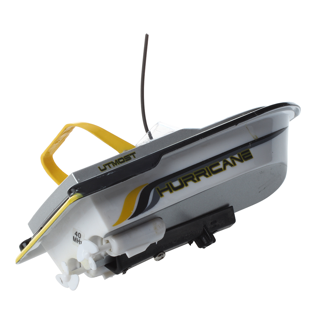 Miniature Mini 3352 RC Boat Radio Remote Control Yellow Kid Toy