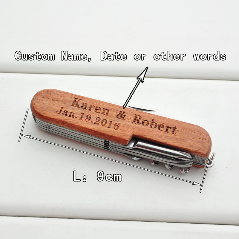 Personalized Pocket Knife Gift For Him Custom Name Knife Multi tool Knives Gift For Father Boyfriend