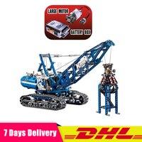 LEPIN 20010 Technic Mechanical The Crawling Crane Set Building Blocks Bricks Educational Toys Gifts Compatible LegoINGlys 42042