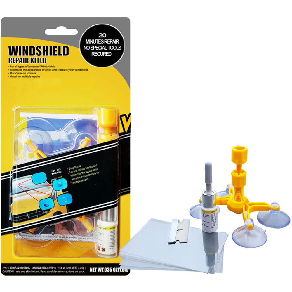Windshield Repair Kit Car Window Glass Scratch Crack Restore Repair Tool Car Window Screen Polishing Car Styling