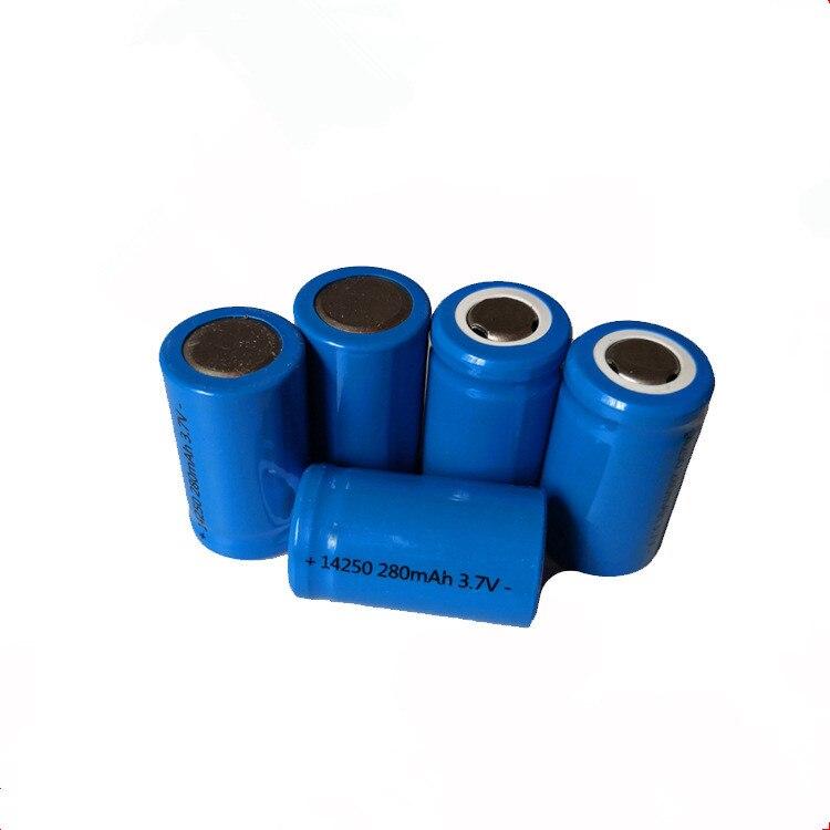 2017 ICR 14250 280 mAh 3 7V Li ion Rechargeable Battery