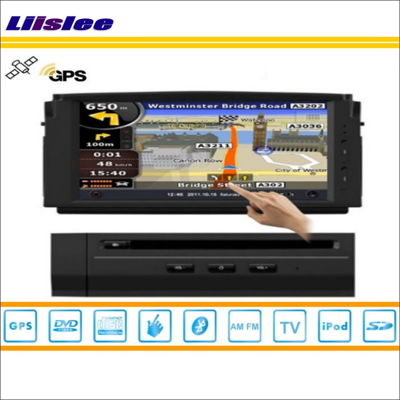 Liislee For Mercedes Benz C Class W204 2007~2011 Car DVD Player GPS NAV Navigation Radio iPod HD Screen S100 Multimedia System