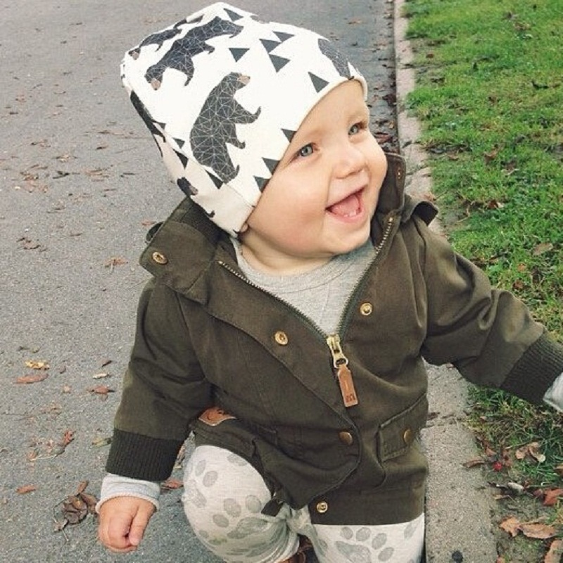 2017 New Winter Warm Cotton Baby Hat Girl Boy Toddler Infant Kids Caps Lovely Animal Knitted Crochet Baby Beanies Accessories