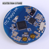 NRF51822 Bluetooth 4 0 BLE SOC Temperature Pressure Acceleration Sensor Gyroscope Light Sensor Module MPU6050 AP3216