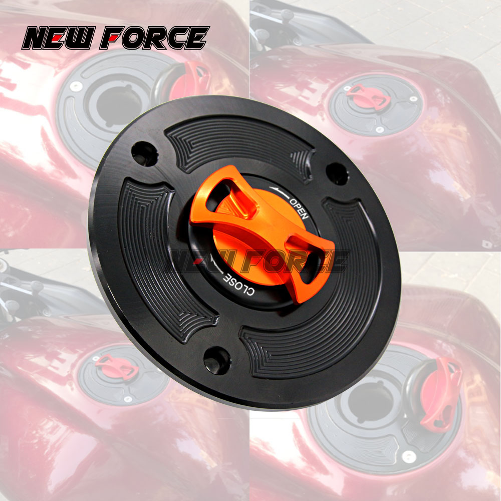 8 Colors Keyless Gas Fuel Tank Cap Cover For KTM DUKE 125 2011- 2016 DUKE200 200 2012-2016 DUKE390 390 2013-2014 image