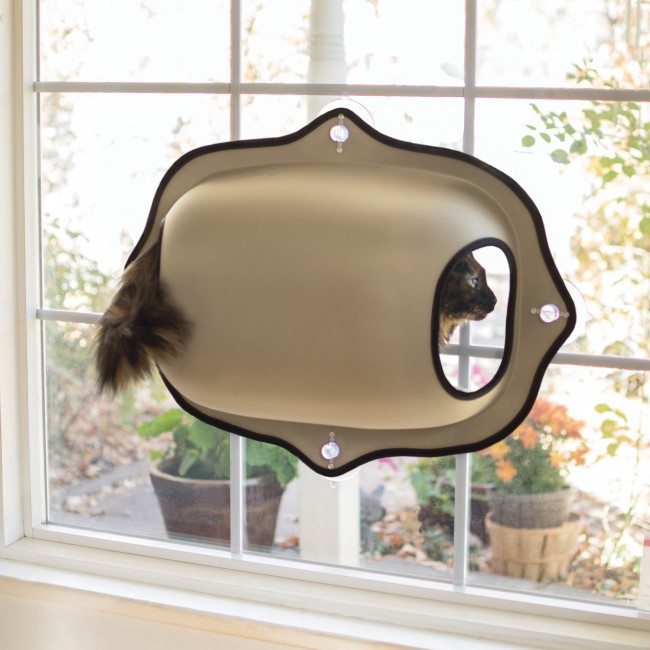 Cat Window Sucker Bed Cat Lounger Bed Hammock Sofa Mat Lounger Perch Cushion Hanging Shelf Sucker