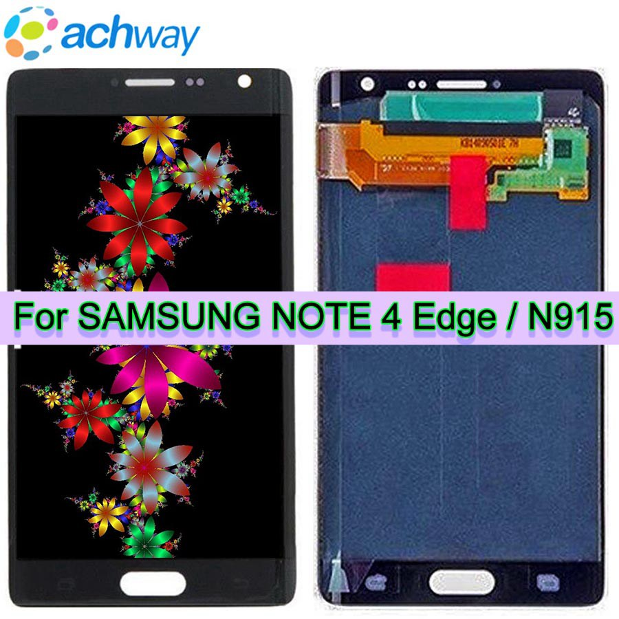 For 5.6 Samsung Galaxy NOTE 4 Edge N915 LCD Display Touch Screen Digitizer Assembly Replacement For SAMSUNG NOTE 4  N910 LCDFor 5.6 Samsung Galaxy NOTE 4 Edge N915 LCD Display Touch Screen Digitizer Assembly Replacement For SAMSUNG NOTE 4  N910 LCD