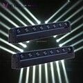2 шт./лот LED 8*12 Вт RGBW CREE Beam 8 Eyes Mini DMX512 Moving Head Light