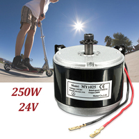 24V DC 14A 250W ELECTRIC MOTOR BRUSH FOR E BIKE SCOOTER GO KART W/ MOUNT BRACKET MY1025