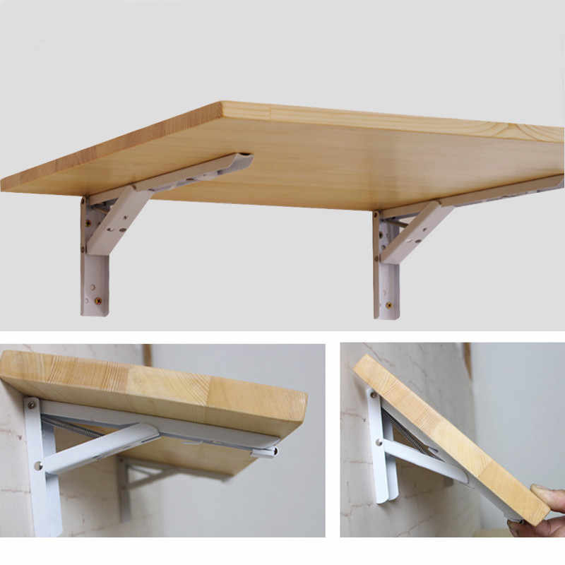 Folding Dining Table Paint Free Eco-Friendly Solid Wood Computer Desk  Kitchen Table Dining Room Furniture Kitchen Habitdesign