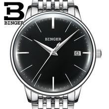 BINGER Mechanical Men watch Luxury Brand Mens Automatic Watches Sapphire Wristwatches Male Watch Waterproof Reloj Hombre B5078M7