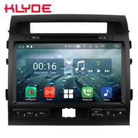 9 IPS Octa Core 4G Android 8.1 4GB RAM 64GB ROM Car DVD Multimedia Player Radio Stereo For Toyota Land Cruiser LC200 2007 2015