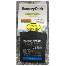 CGA-S001E lithium batteries pack S001E Digital camera battery CGA S001E For Panasonic Lumix DMC-F1 DMC-F1B Lumix DMC-FX5EG-S
