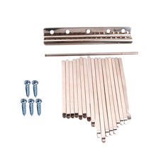 17 Pieces Musical Steel Keys For Kalimba Percussion Instrument Parts Accessories