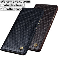 NC09 genuine leather flip case for Xiaomi Redmi 4X phone case for Xiaomi Redmi 4X leather cover free shipping