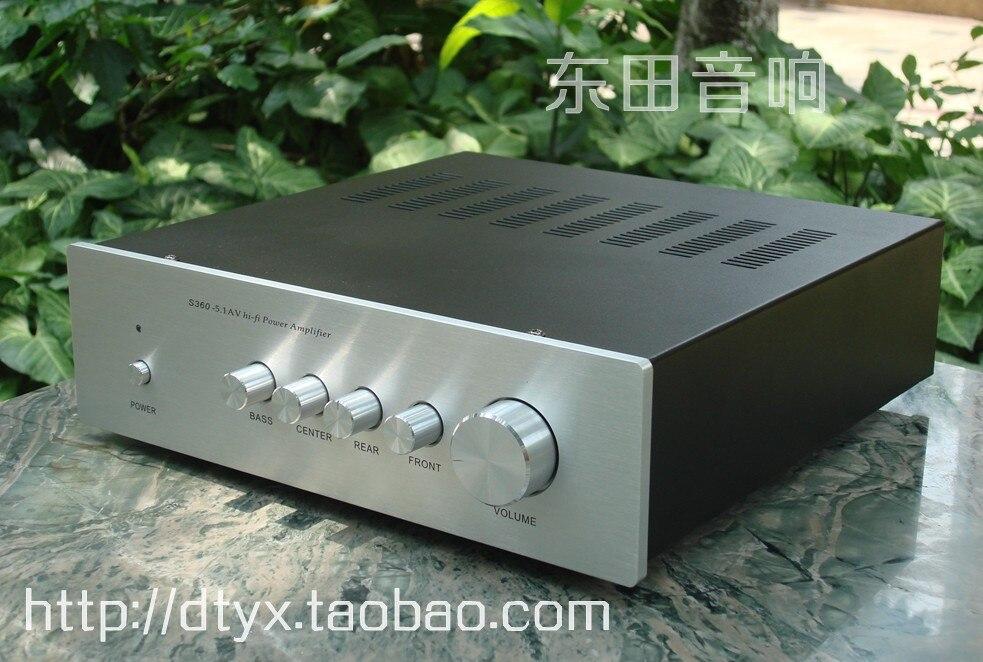 5.1 canaux amplificateur avec classique TA2020 IC 6-canaux audio amplificateur