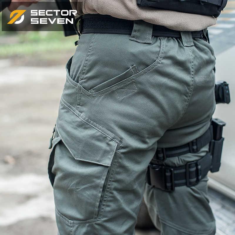 IX9 Lycra gra wojenna taktyczne Cargo spodnie męskie silm dorywczo spodnie męskie spodnie bojowe SWAT armia wojskowy aktywne spodnie