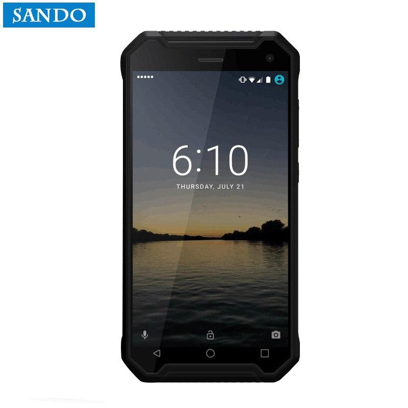 Jeasung P8 2017 Nouveau Robuste Smartphone, Quad Core MTK6737, Android 7.0, 2/16 GB, 5000 mAh Batterie avec Lecteur D'empreintes Digitales