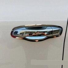 Фотография  For Skoda Octavia A7 VW Golf 7 2014 2015 2016  New Chrome Car Side Door Handle Cover Trim Stickers Car Styling
