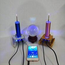 Многофункциональная Электроника Аудио Музыка катушки Тесла Diy модуль плазменный динамик беспроводной передачи звука Твердые наука
