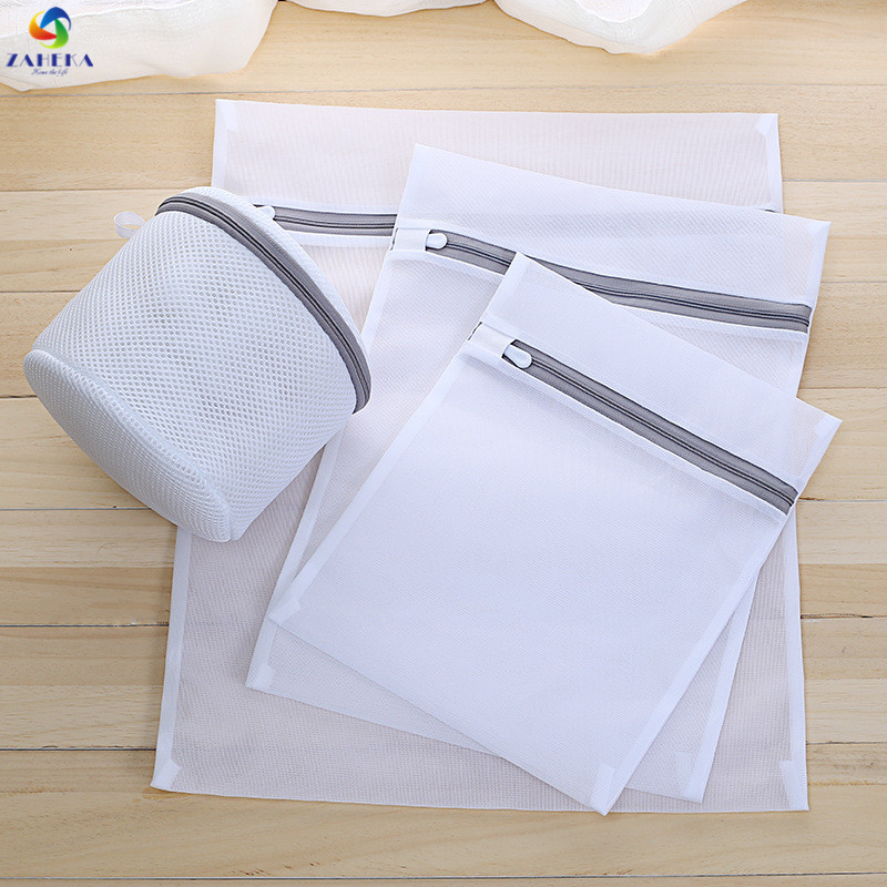 7PC/Set Clothes Bra Underwear Washing Bag Laundry Bag Mesh Net Wash Pouch Laundry Basket For Washing Machine Storage Bag Washer