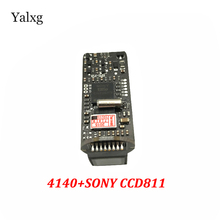 купить Analog 1/3 Sony 960H CCD Sensor 700TV Lines Color Wired Mini Bullet Video Camera Module CCTV Security Camera 960H 4140+811\810 по цене 1522.12 рублей