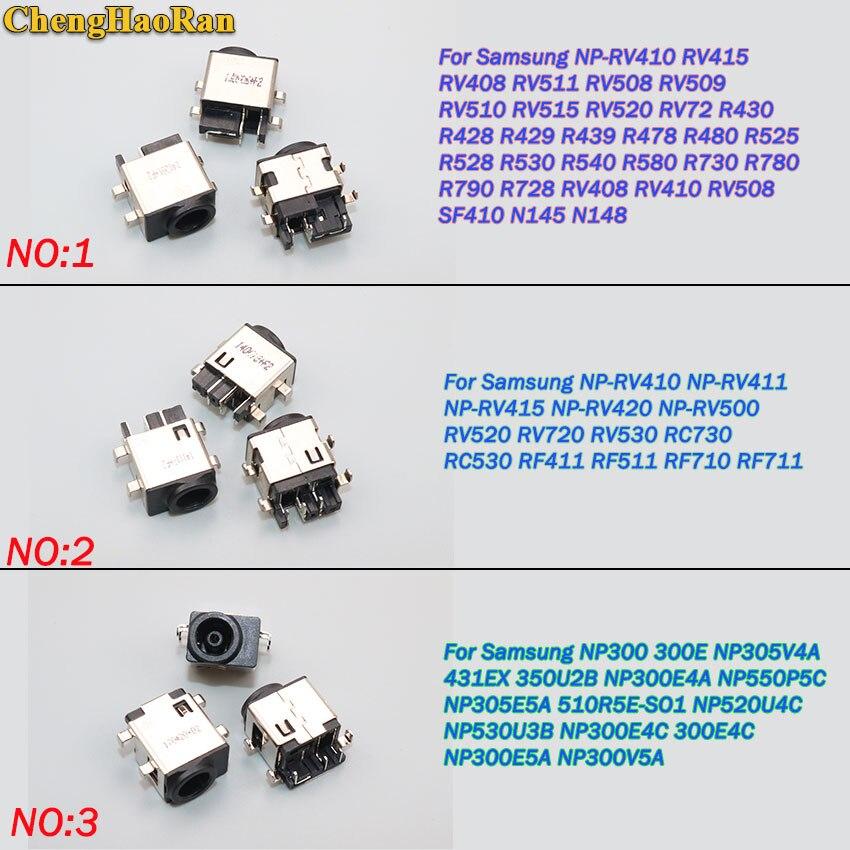 ChengHaoRan 5pcs For Samsung NP NP300 NP305V4A NP300E4C NP300V3A N220 QX410 R480 RV511 RV515 RV520 RC512 DC Power jack connectorChengHaoRan 5pcs For Samsung NP NP300 NP305V4A NP300E4C NP300V3A N220 QX410 R480 RV511 RV515 RV520 RC512 DC Power jack connector