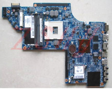 for hp dv6 dv6-6000 laptop motherboard 665345-001 hm65 ddr3 Free Shipping 100% test ok цена