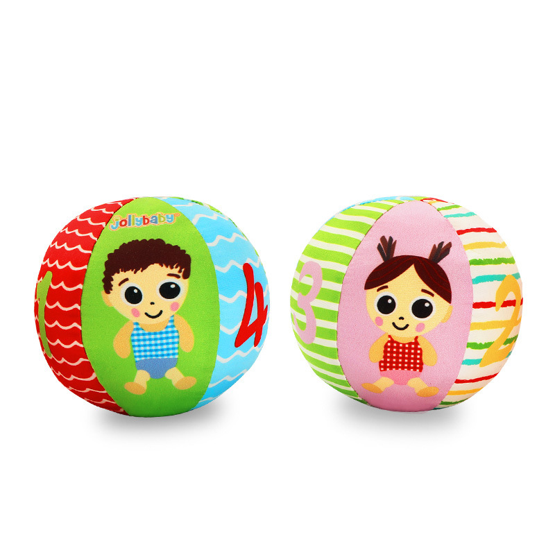 Baby Toys Boy Girl Animal Ball Soft Stuffed Toy Balls Baby Rattles Infant Babies Body Building Ball For 0-3 years old