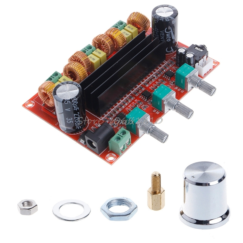 <font><b>TPA3116D2</b></font> 2x 50W +100W <font><b>2.1</b></font> Channel Digital <font><b>Subwoofer</b></font> Power Amplifier Board Whosale&Dropship image