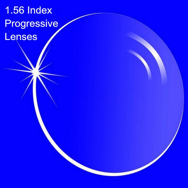 1.56 índice de prescrição lentes progressivas forma livre Multi Focal lente sem linha de miopia / hipermetropia interno lentes progressivas