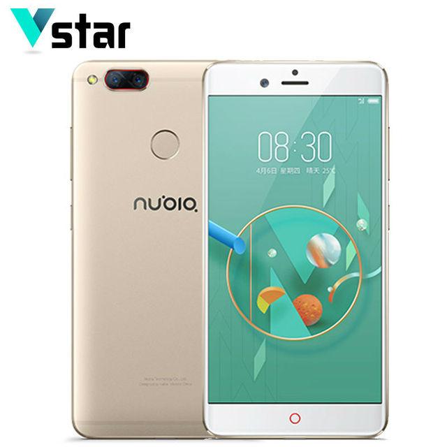 Original Nubia Z17 Mini 5.2 Inch Mobile Phone 4GB RAM 64GB ROM Fingerprint ID Snapdragon 652 MSM8976 Back Camera Dual SIM Cards