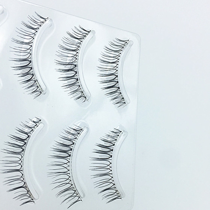 f77f8cca06d 4pairs/tray Mink Eyelashes 4D Lashes Thick HandMade Full Strip Lashes  Cruelty Free Mink Lashes 8 Styles False Eyelashes-in False Eyelashes from  Beauty ...