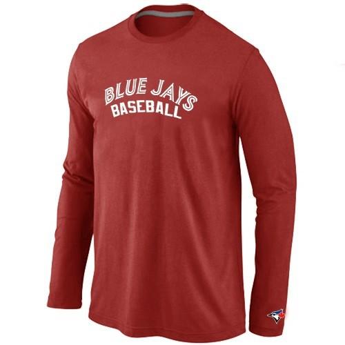 Toronto Blue Jays Long Sleeve T-Shirt RED
