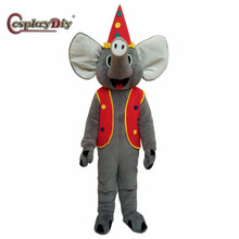 CosplayDiy Adult Unisex Elephant Mascot Costumes Cosplay For Halloween Party  sc 1 st  AliExpress.com & Buy elephant costume mascot and get free shipping on AliExpress.com