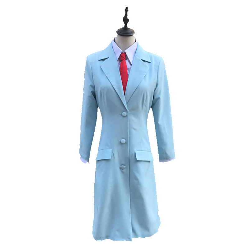 Anime Steins Gate 0 Makise Kurisu Cosplay Costume