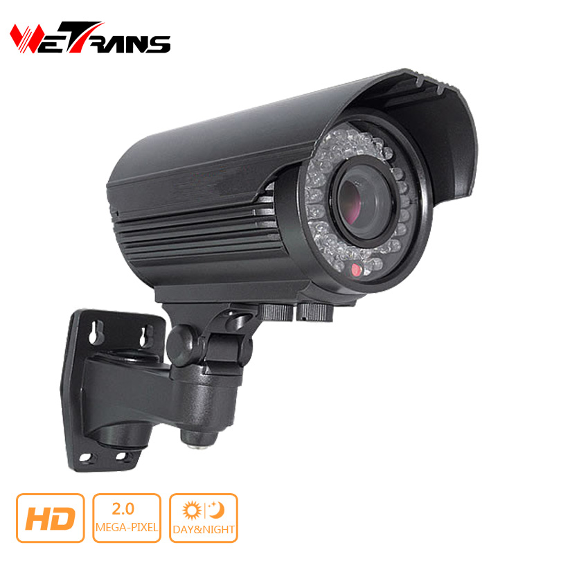 ФОТО HD Camera AHD/HDTVI/HDCVI 2.0Megapixel 2.8-12mm lens 30M night vision 2.0MP IP66 Waterproof CCTV 1080P Camera