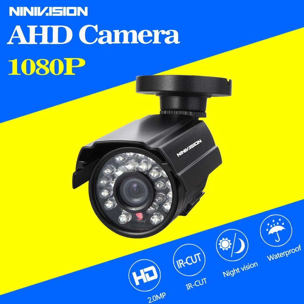 imágenes para Metal Cámara 2.0MP 1080 P AHD Bala Impermeable Al Aire Libre Cámara de Seguridad CCTV 24 UNIDS LED Tablero de ONVIF HD Cámara de visión nocturna cámara