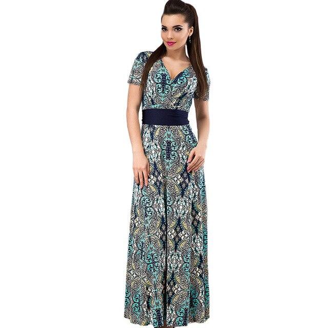 Big Size Damen Sommer Kleid 2017 Online Shopping Indien V ausschnitt ...